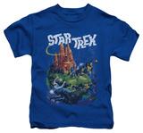 Juvenile: Star Trek - Vulcan Battle T-shirts