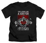 Youth: Superman - Watchful Eye T-shirts