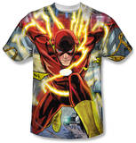 The Flash - Police Line T-shirts