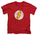 Juvenile: The Flash - Flash Logo Distressed T-Shirt