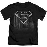 Youth: Superman - Skyline T-Shirt
