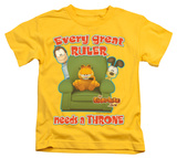 Youth: Garfield - Throne Shirts