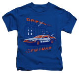 Youth: Back To The Future - Lightning Strikes T-shirts