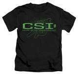 Juvenile: CSI - Sketchy Shadow T-shirts