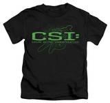 Youth: CSI - Sketchy Shadow Shirts