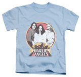 Youth: Charlie's Angels - Retro Group Shirts