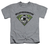Juvenile: Superman - Soccer Shield T-shirts