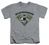 Youth: Superman - Soccer Shield T-shirts