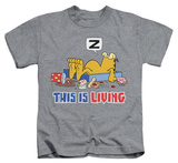 Juvenile: Garfield - This Is Living Shirts