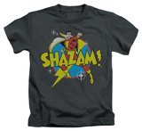 Juvenile: Shazam! - Power Bolt T-shirts