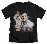 Juvenile: Elvis Presley - That's All Right T-shirts