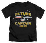 Youth: Star Trek - Future Captain T-shirts