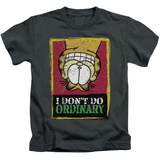 Juvenile: Garfield - I Don't Do Ordinary T-Shirt