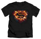 Youth: Superman - Space Burst Shield T-shirts