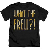 Juvenile: Farscape - What The Frell Shirts