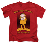 Juvenile: Garfield - I Didn't Do It Shirt