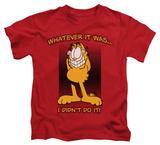 Youth: Garfield - I Didn't Do It Shirts