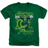 Juvenile: Green Lantern - Sector 2814 T-shirts