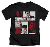 Juvenile: Criminal Minds - Character Boxes Shirts