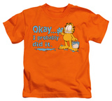 Juvenile: Garfield - I Probably Did It T-Shirt