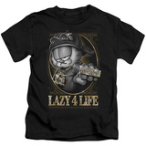 Juvenile: Garfield - Lazy 4 Life T-shirts