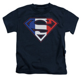 Youth: Superman - French Shield T-shirts