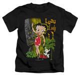 Juvenile: Betty Boop - Luau Lady T-Shirt