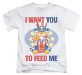 Juvenile: Garfield - I Want You T-shirts