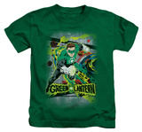 Juvenile: Green Lantern - Space Sector 2814 T-shirts