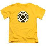 Juvenile: Green Lantern - Sinestro Corps Logo Shirts