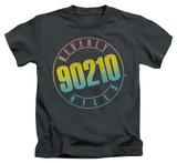 Juvenile: Beverly Hills 90210 - Color Blend Logo T-shirts