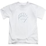 Juvenile: Green Lantern - White Lantern Logo Shirt