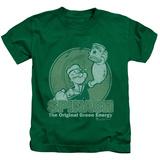 Juvenile: Popeye - Green Energy T-shirts