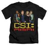 Juvenile: CSI Miami - The Cast In Black T-shirts
