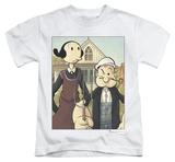 Juvenile: Popeye - Popeye Gothic Shirts