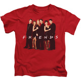 Youth: Friends - Cast In Black T-shirts