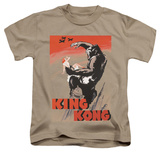 Youth: King Kong - Red Skies Of Doom Shirts
