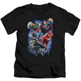 Juvenile: Justice League - Storm Makers T-shirts