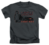 Juvenile: Knight Rider - Ladies Knight T-shirts