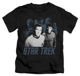 Juvenile: Star Trek - Kirk Spock And Company T-Shirt