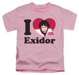 Juvenile: Mork & Mindy - I Heart Exidor T-shirts