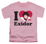 Youth: Mork & Mindy - I Heart Exidor T-shirts