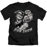 Youth: Popeye - Gun Show T-Shirt