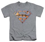 Youth: Superman - Basketball Shield T-shirts