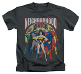 Juvenile: Justice League - Neighborhood Watch T-shirts