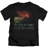 Juvenile: Lord Of The Rings - Walk In Mordor T-shirts