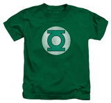 Juvenile: Green Lantern - GL Logo Distressed T-Shirt