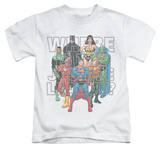 Juvenile: Justice League - Classified No.1 Cover T-Shirt