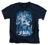 Juvenile: Justice League - Burst T-shirts