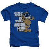 Juvenile: Garfield - Awesome T-shirts